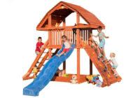 Dětské hřiště pro děti se skluzavkou