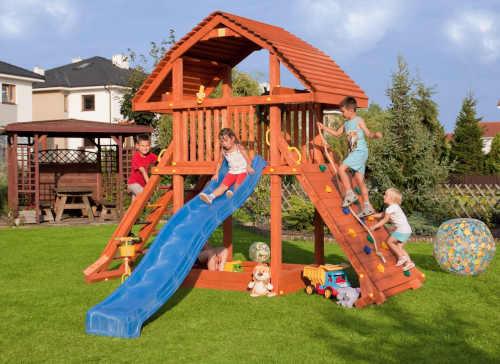 interesantní řešení do zahrady pro děti