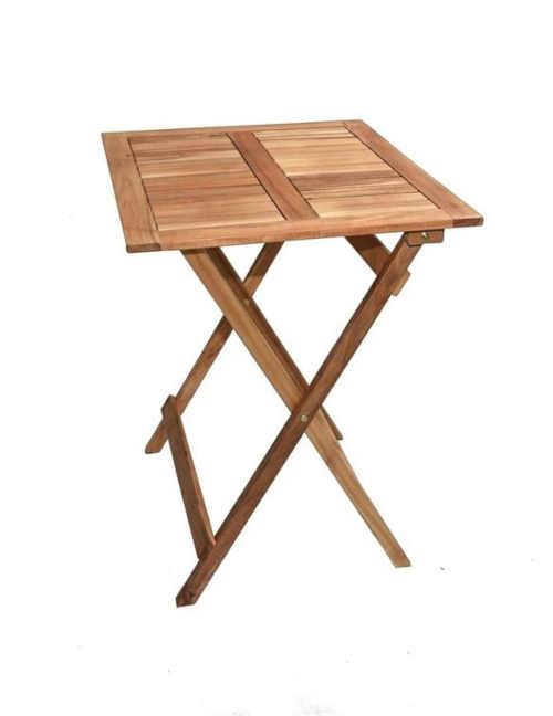 malý praktický stolek ze dřeva