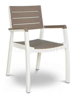 Praktická plastová zahradní židle FLORENCE