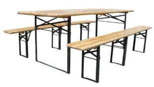 Zahradní pivní set se dvěma lavicemi