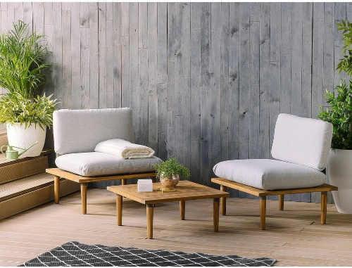 komfortní set zahradního nábytku