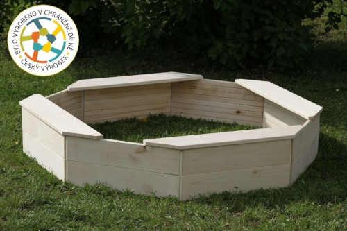 praktické pískoviště pro děti