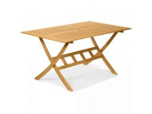 Prostorný zahradní stůl z akáciového dřeva