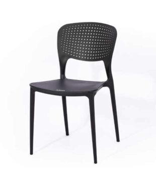 Zahradní židle v černém provedení
