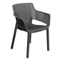 Zahradní židle Keter Elisa v komfortním provedení