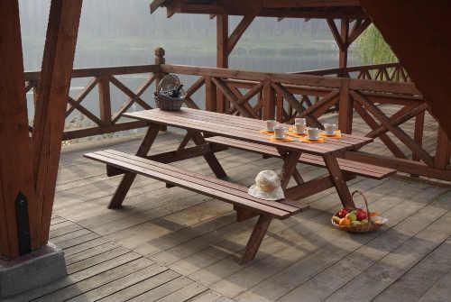 dřevěná zahradní sestava Piknik