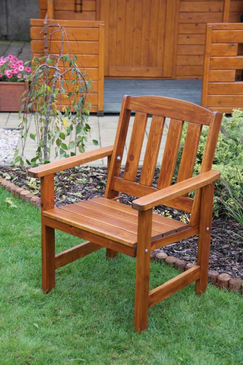 praktický zahradní set z borovice