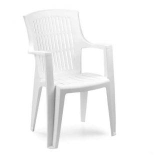 Stohovatelná plastová zahradní židle