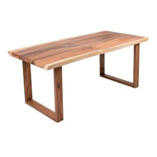 Zahradní dřevěný jídelní stůl