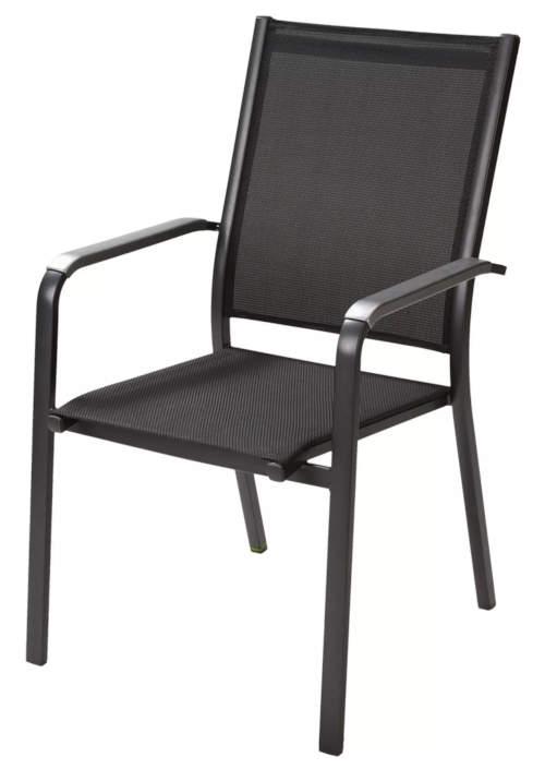 Elegantní a praktická stohovatelná zahradní židle AMICO