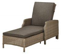 Luxusní zahradní lehátko FLORENZ2 pro relaxaci či opalování